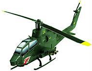 Сборная игровая модель из картона «Вертолет Cobra», 190-01, детские игрушки