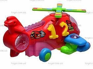 Вертолет музыкальный Angry Birds, F-1050, фото