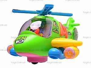 Вертолет музыкальный Ben Ten, F-1010, фото