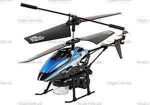 Вертолет на инфракрасном управлении Bubble, синий, WL-V757b
