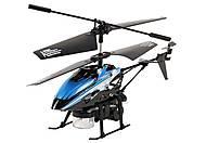 Вертолет на инфракрасном управлении Bubble, синий, WL-V757b, toys