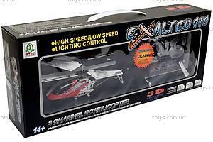 Вертолет, с гироскопом и пультом р/у, 777-910, детские игрушки