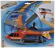Вертолет с механическим пусковым механизмом красный, 720 7941-3, toys
