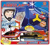 Вертолет с пусковой установкой AMBULANCE, 1683, интернет магазин22 игрушки Украина