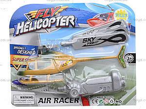 Игрушка с запуском для детей «Вертолет», 2337A, фото