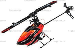Вертолёт 3D на радиоуправлении, оранжевый, WL-V922o