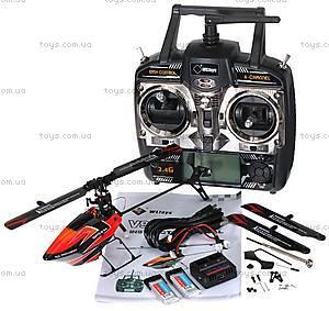 Вертолёт 3D на радиоуправлении, оранжевый, WL-V922o, детские игрушки