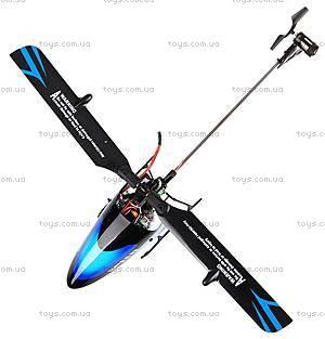 Вертолёт 3D на радиоуправлении, синий, WL-V922b, фото