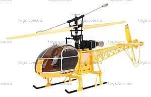 Большой радиоуправляемый вертолёт WL Toys V913 Lama, желтый, WL-V915y
