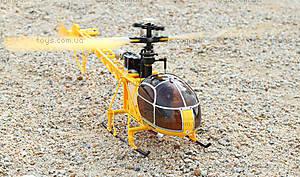 Большой радиоуправляемый вертолёт WL Toys V913 Lama, желтый, WL-V915y, отзывы