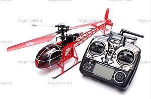 Вертолёт на радиоуправлении WL Toys V913 Lama, красный, WL-V915r, фото
