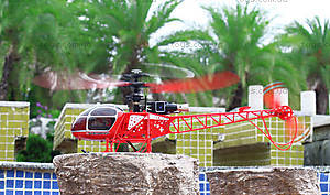 Вертолёт на радиоуправлении WL Toys V913 Lama, красный, WL-V915r, цена