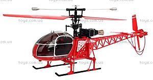 Вертолёт на радиоуправлении WL Toys V913 Lama, красный, WL-V915r