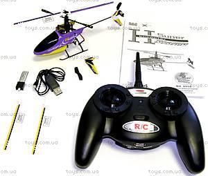 Вертолёт радиоуправляемый Xieda, фиолетовый, GWT-9958v, фото