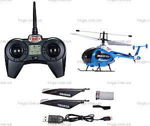 Вертолёт радиоуправляемый Xieda Maker, синий, GWT-9938b, игрушки