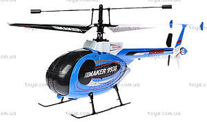 Вертолёт радиоуправляемый Xieda Maker, синий, GWT-9938b