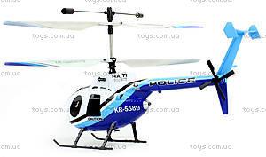 Вертолёт радиоуправляемый Xieda Police, GWT-9988, игрушки