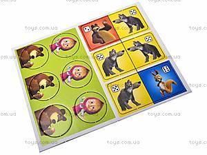 Веселое домино с «Машей и Медведь», VT2101-03, игрушки