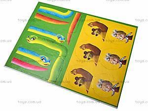 Веселое домино с «Машей и Медведь», VT2101-03, детские игрушки