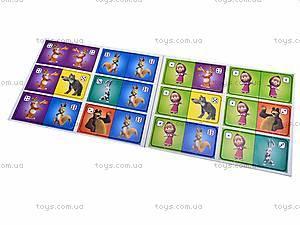 Веселое домино с «Машей и Медведь», VT2101-03, магазин игрушек