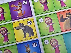 Веселое домино с «Машей и Медведь», VT2101-03, toys.com.ua