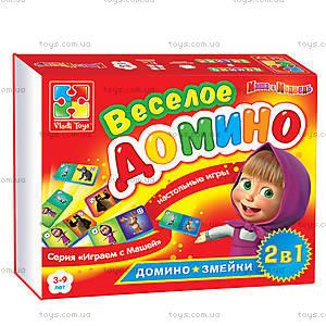Веселое домино с «Машей и Медведь», VT2101-03, toys