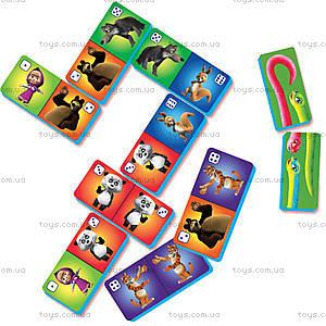 Веселое домино с «Машей и Медведь», VT2101-03, іграшки