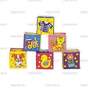 Веселые кубики для детей, 403R/6D PPH, фото