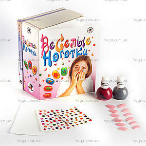 Набор для детского творчества «Веселые ноготки», , купить