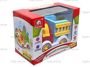 Веселый грузовичок «Музыкальные друзья», EC80392R, игрушки
