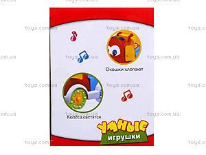 Веселый грузовичок «Музыкальные друзья», EC80392R, детские игрушки