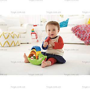 Детская пирамидка «Веселый крокодил», CDC48, купить