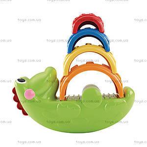 Детская пирамидка «Веселый крокодил», CDC48