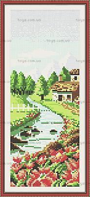 Весенний пейзаж, набор для рукоделия, F067