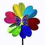 """Ветрячок """"Радужный цветочек с бабочкой"""", C33976, тойс ком юа"""