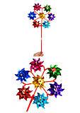 Игрушка - ветрячок (6 цветов, голограмма), V06, фото