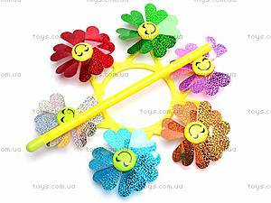 Ветрячок «Цветочки», 6641A, детские игрушки