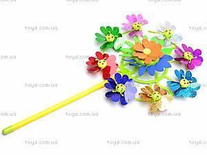 Ветрячок «Цветочки», разноцветный, 6724A
