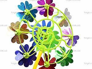 Ветрячок «Цветочки», разноцветный, 6724A, фото