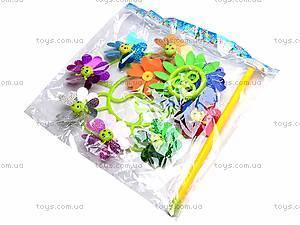 Ветрячок «Цветочки», разноцветный, 6724A, цена