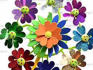 Ветрячок «Цветочки», разноцветный, 6724A, игрушки