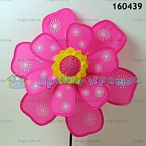 Ветрячок «Цветок», розовый, 160439