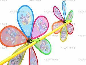 Ветрячок двойной «Микки Маус», 6627A, детские игрушки