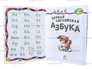 Книга «Первая английская азбука», К537004Р, купить
