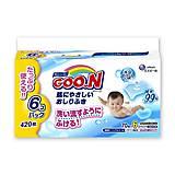 Влажные салфетки GOO.N для чувствительной кожи, 6 блоков, 733549, отзывы