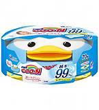 """Влажные салфетки """"GOO.N"""" для чувствительной кожи блок 70 штук, 733776, детский"""