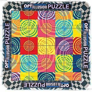 Пазлы магнитные оптические «Шарики», 16 элементов, СТ-213-2