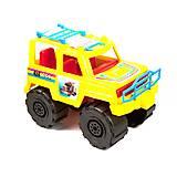 Внедорожник «Джип» жёлтый цвет, KW-05-501