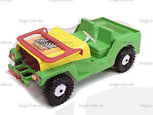 Игрушечная машина «Внедорожник Гиго», 323, цена