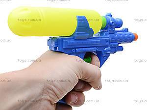 Пистолет игрушечный водяной, 3299, фото